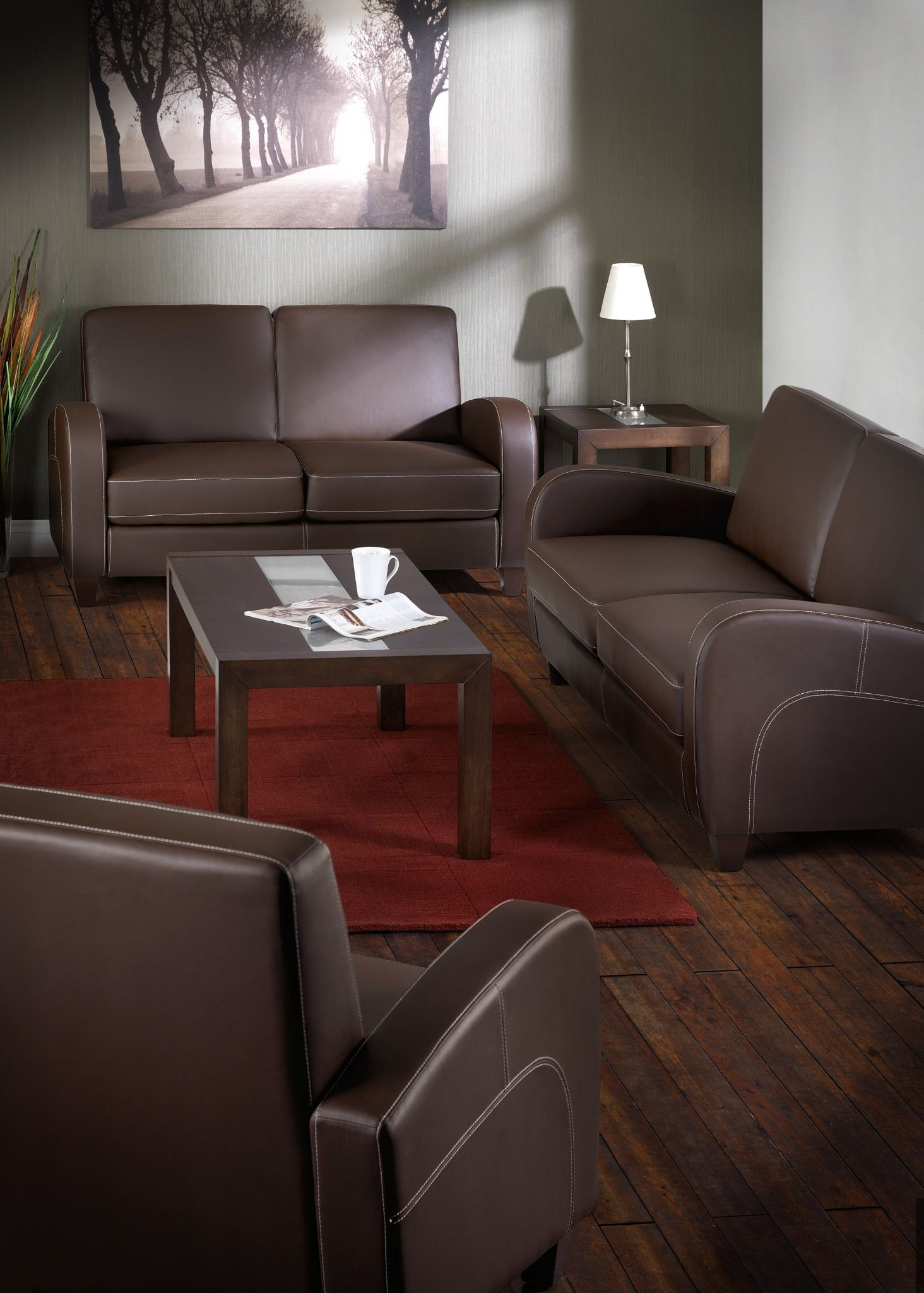 Leather Fold Out Couch